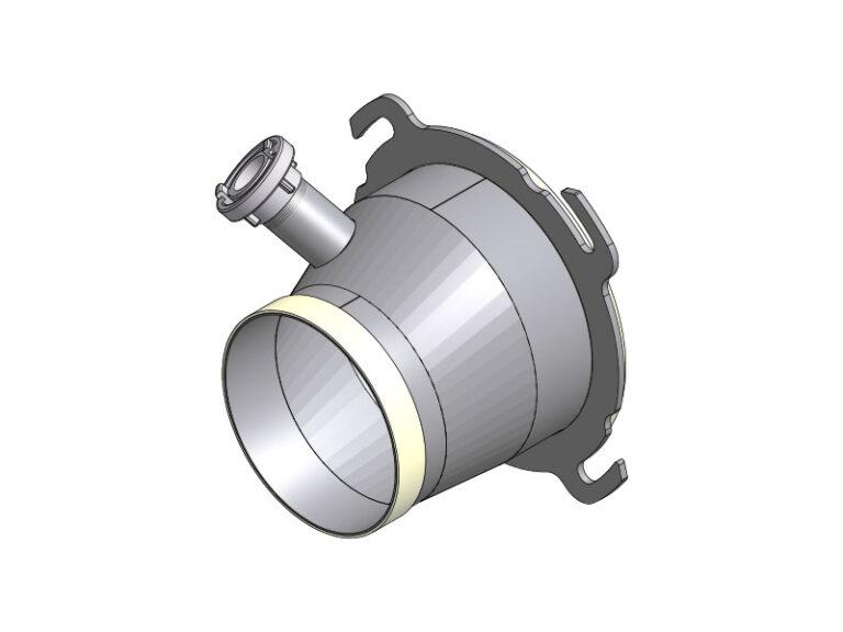EBC - CA2 - ABC Funnel for aluminium bulk containers.