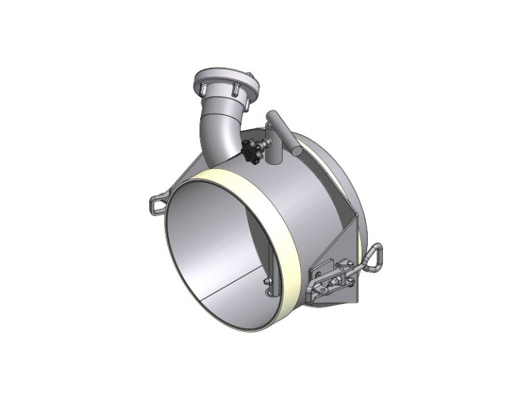 EBC - CB1 - Butterfly valve for fishtail funnel and other equipment