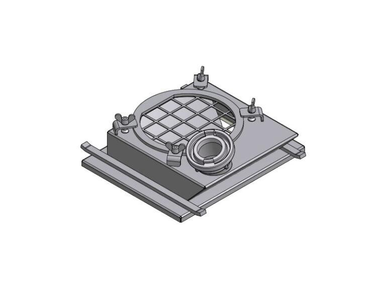 EBC - CD15 - Top-plate for rotary feeders type ER3G25